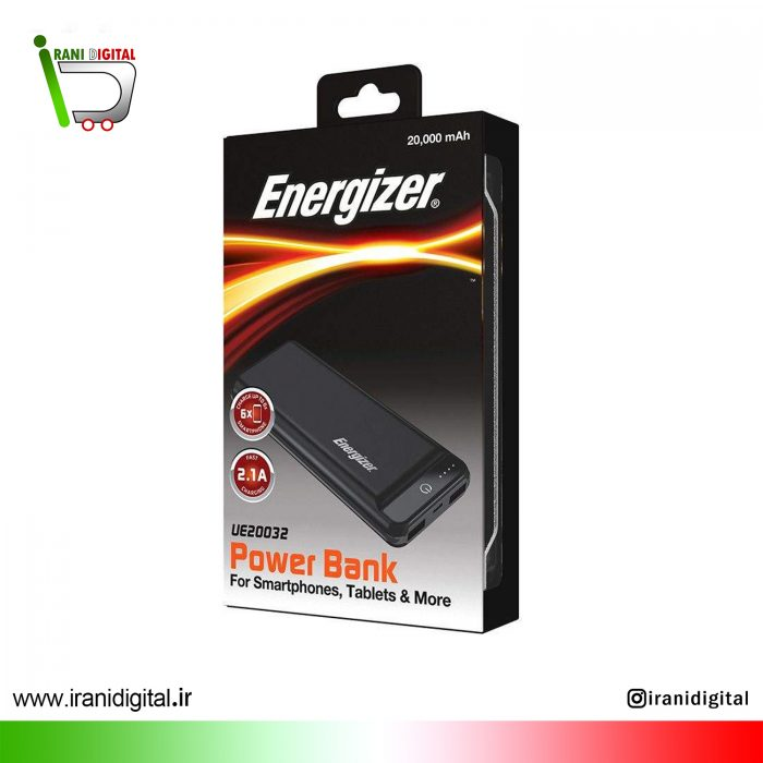 21 1 Energizer UE20032 Power Bank